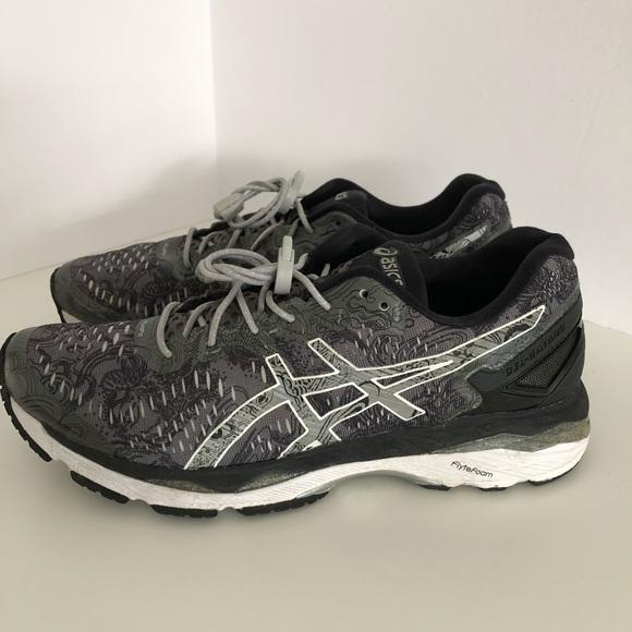ASICS T6A6N Gel Kayano 23 running shoes 9 gray